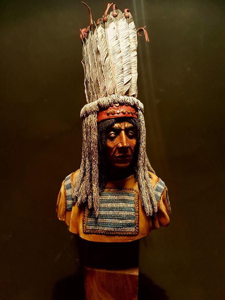 Buste d'indien blackfeet  24129810