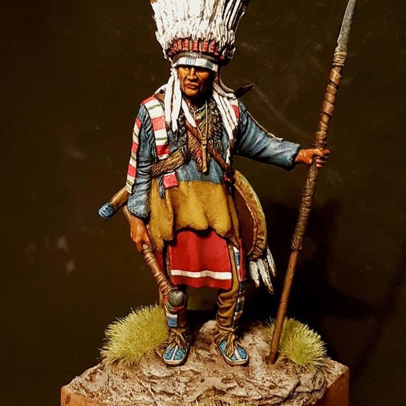 Indien des plaines Tatar miniatures  25591610