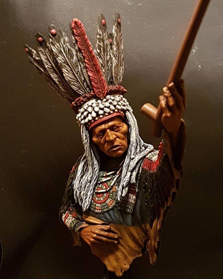 Guerrier Blackfoot SK miniatures 26231110