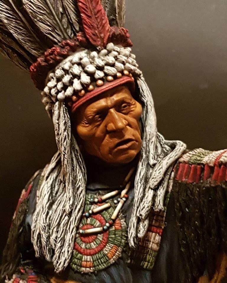 Guerrier Blackfoot SK miniatures 26231111