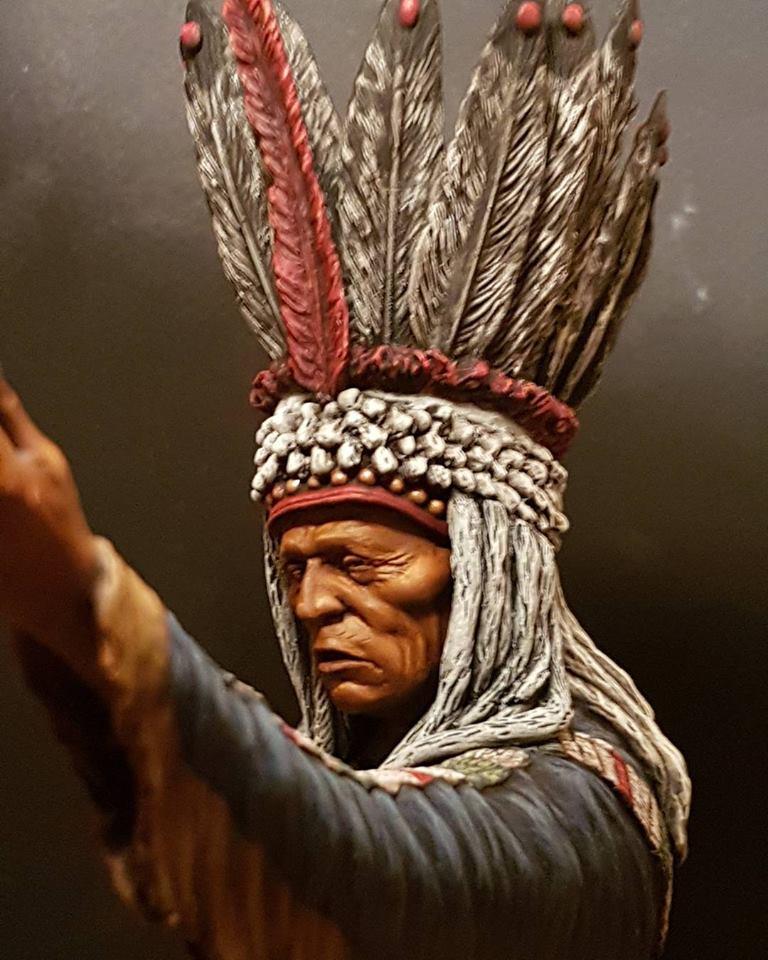 Guerrier Blackfoot SK miniatures 26907210