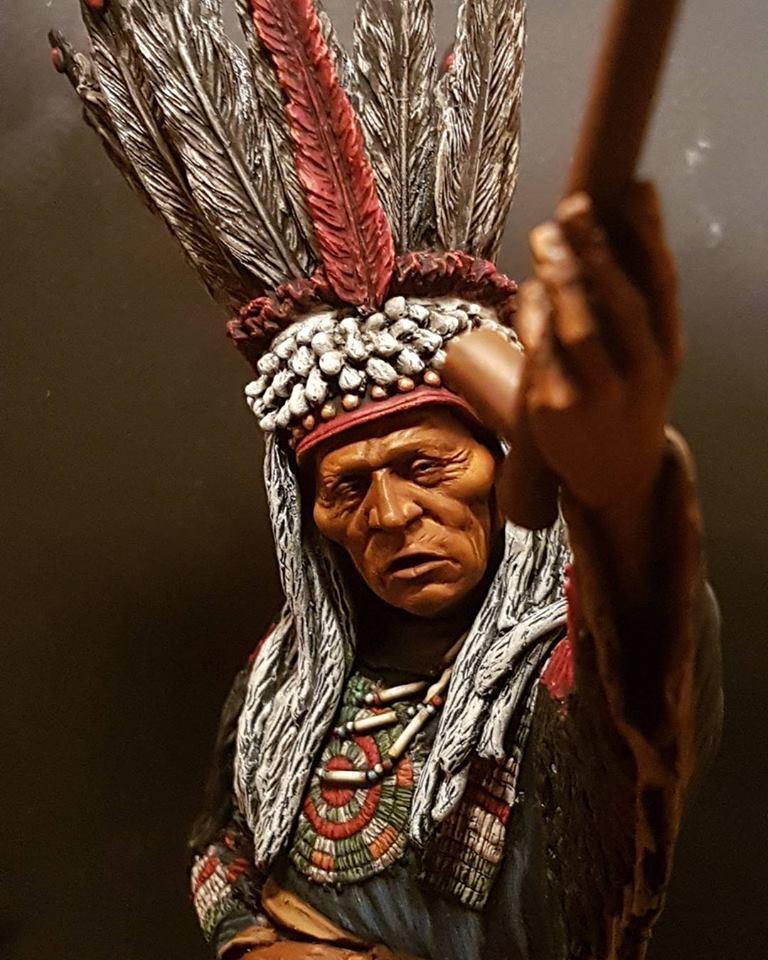 Guerrier Blackfoot SK miniatures 26907410