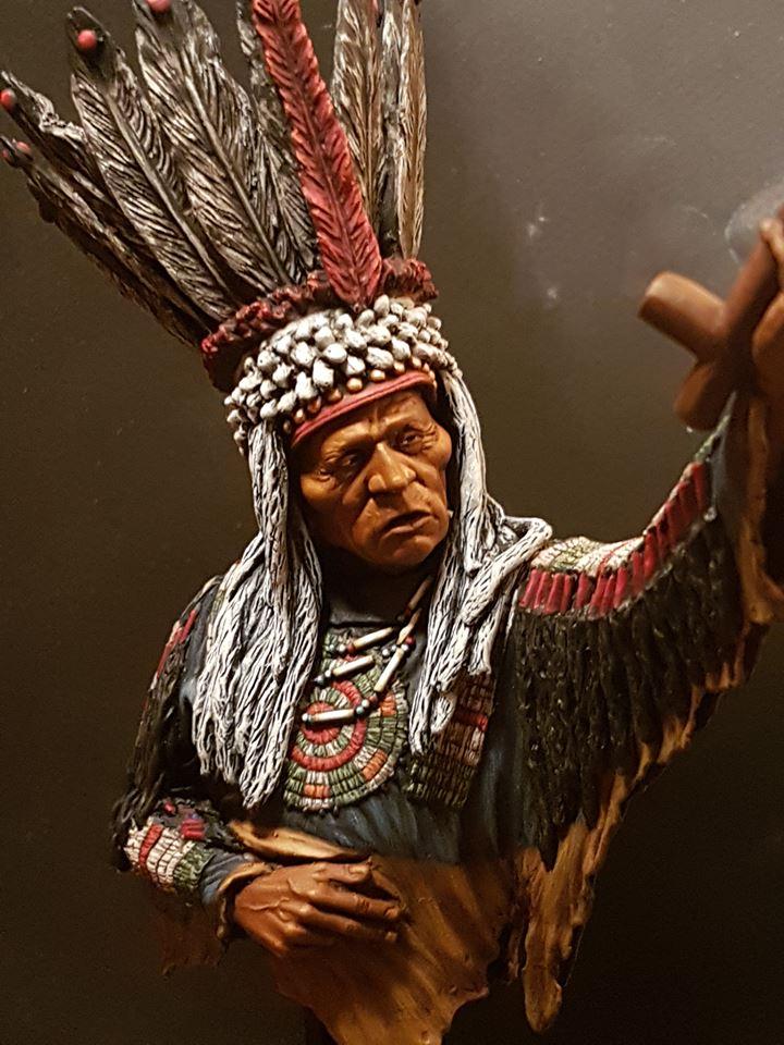 Guerrier Blackfoot SK miniatures 26991911