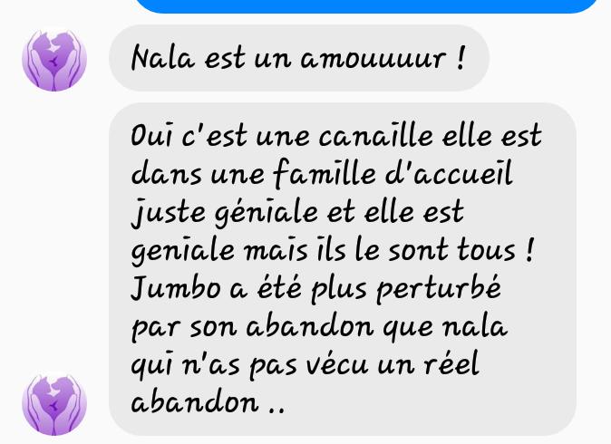 NALA croisée beauceronne née en 2016 en Famille d'Accueil Scree108
