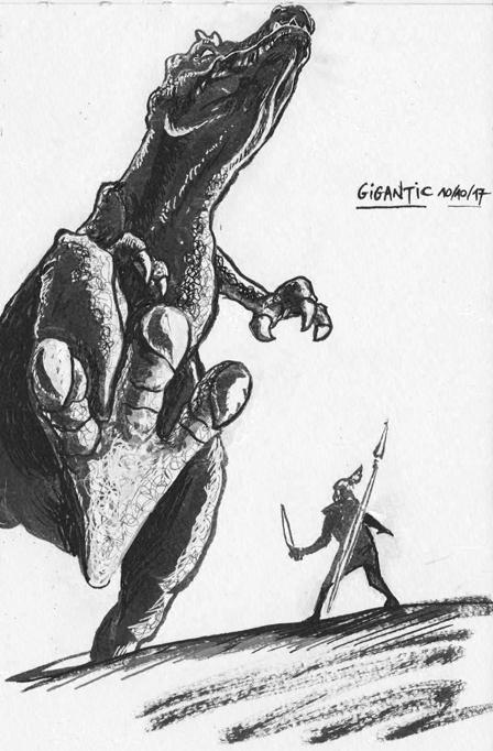 [nudité] croquis/études/sketchbook lolochewie - Page 2 Inktob12