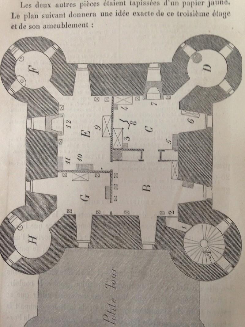La famille royale à la prison du Temple : plans et aménagements - Page 4 55116010