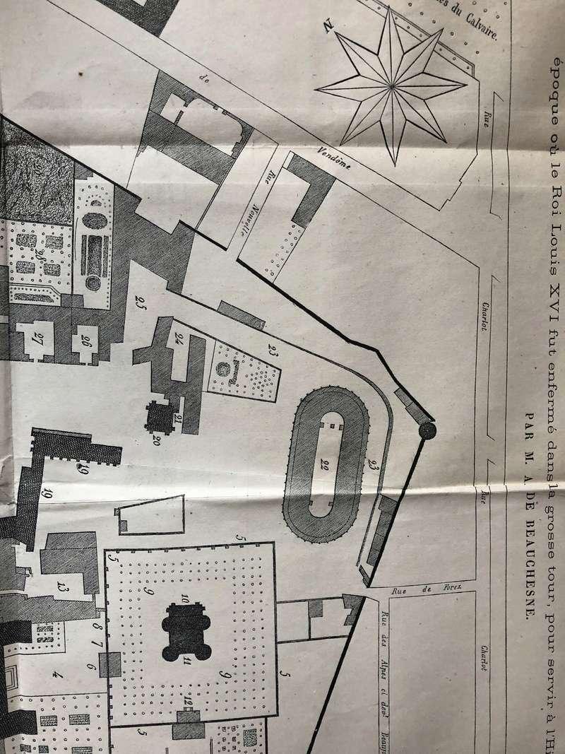 La famille royale à la prison du Temple : plans et aménagements - Page 4 709c4110
