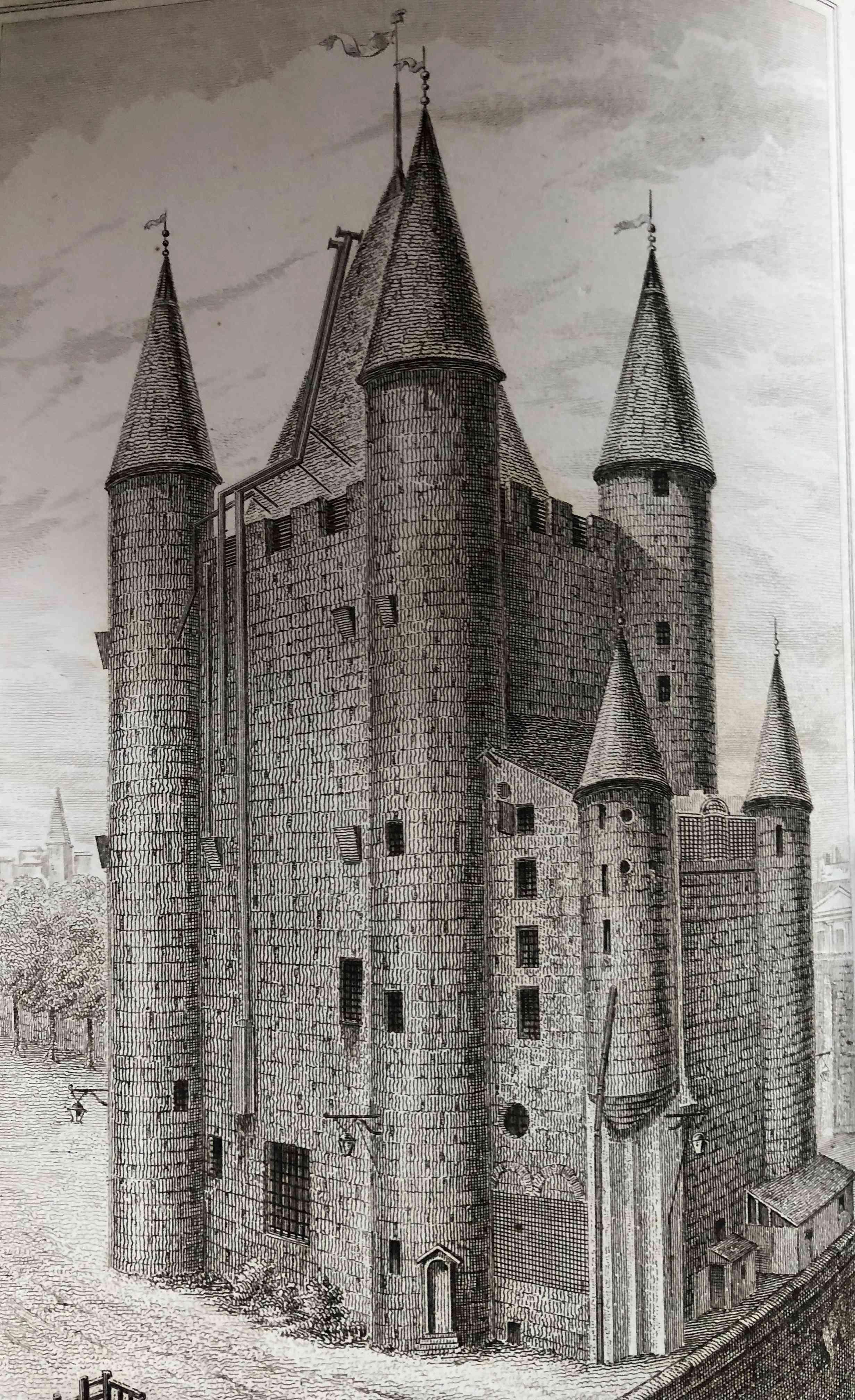 La famille royale à la prison du Temple : plans et aménagements - Page 5 A3283e10