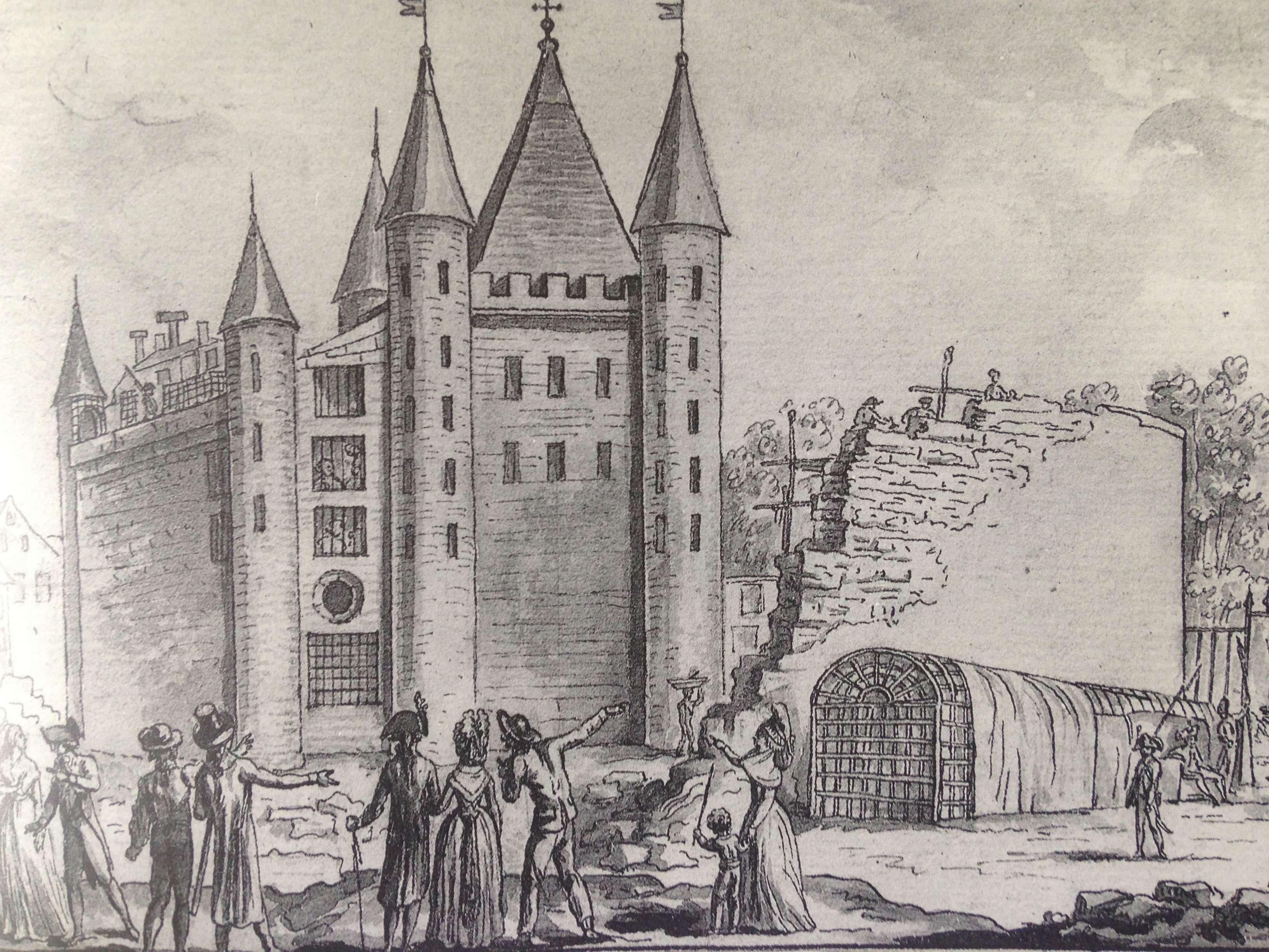 La famille royale à la prison du Temple : plans et aménagements - Page 4 C23d6410