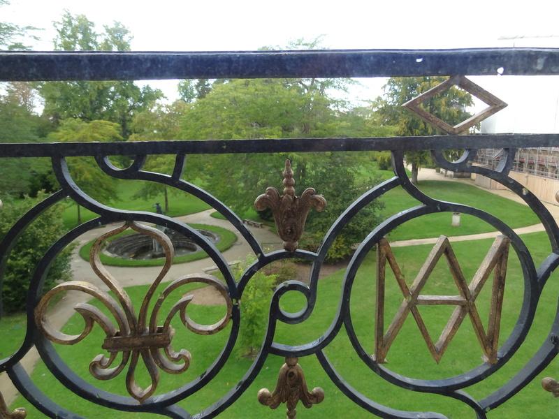 Le boudoir d'argent de Marie-Antoinette au château de Fontainebleau  Dsc06212