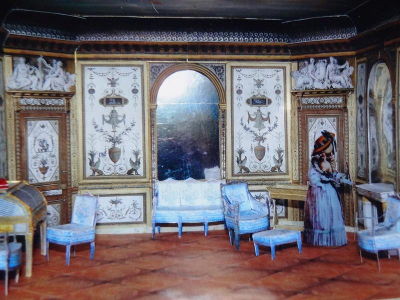Le boudoir d'argent de Marie-Antoinette au château de Fontainebleau  Dsc09610