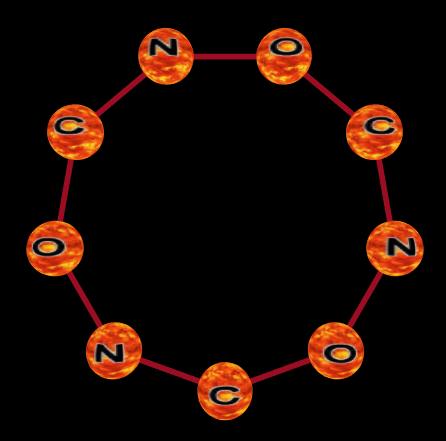 Molecular Bonding Language Ring-010