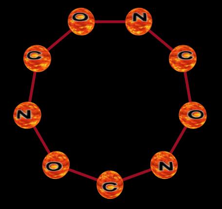 Molecular Bonding Language Ring-012
