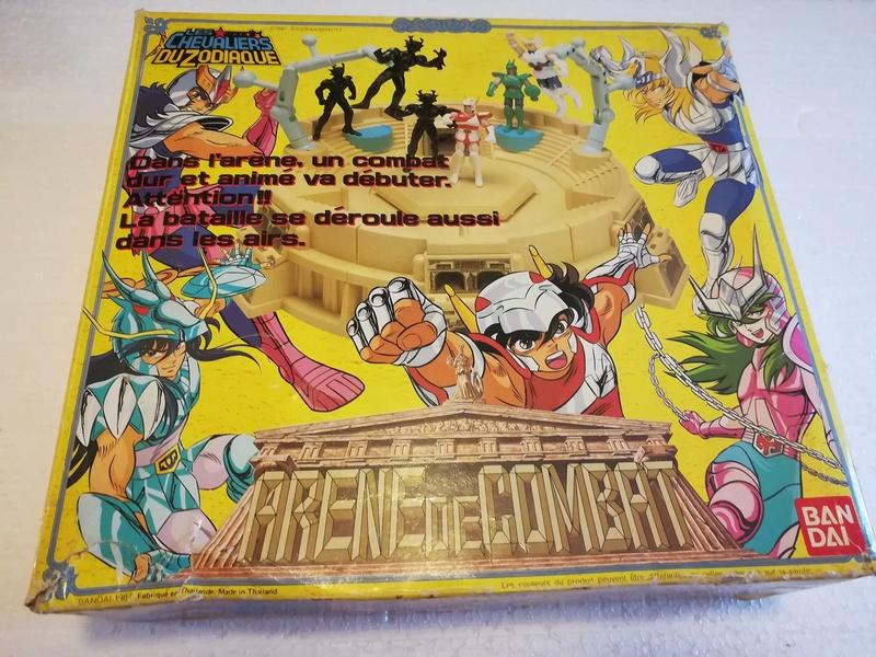 Cavalieri Dello Zodiaco \ Saint Seiya Arena Bandai 1987 edizione francese 114