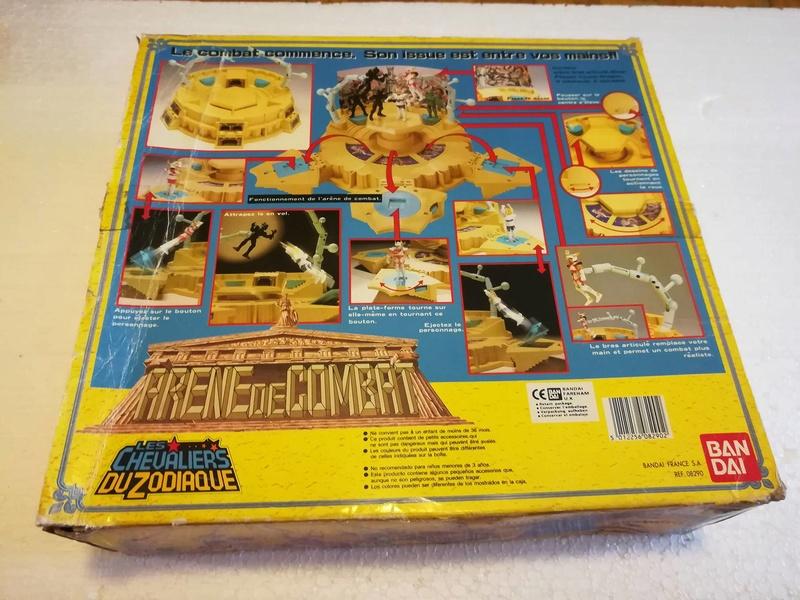 Cavalieri Dello Zodiaco \ Saint Seiya Arena Bandai 1987 edizione francese 213