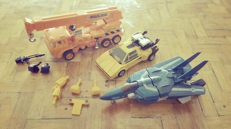 transformers - Transformers Transformer Diaclone G1 Gig 22396610