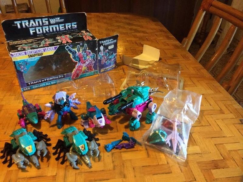 transformers - Transformers Seacons \ Piracons G1 22812910