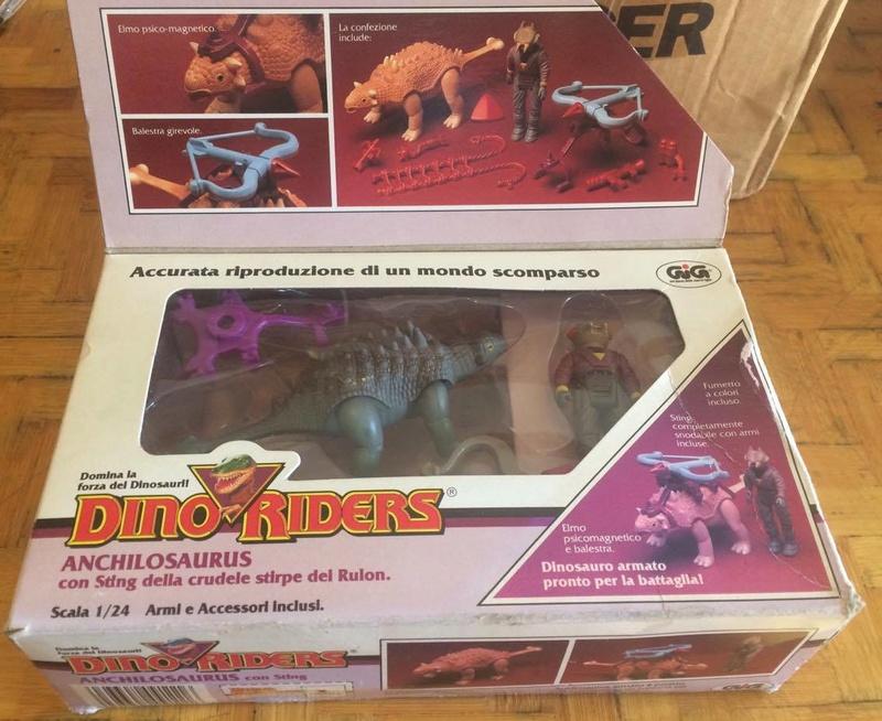 Collezione Dino Riders 24818810