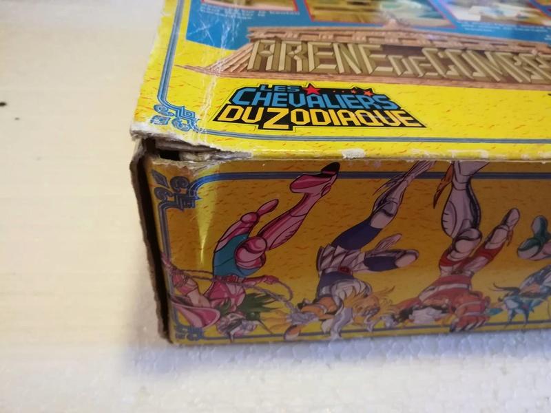 Cavalieri Dello Zodiaco \ Saint Seiya Arena Bandai 1987 edizione francese 412