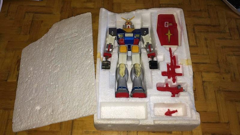 Gundam Dx dischi dal petto 413