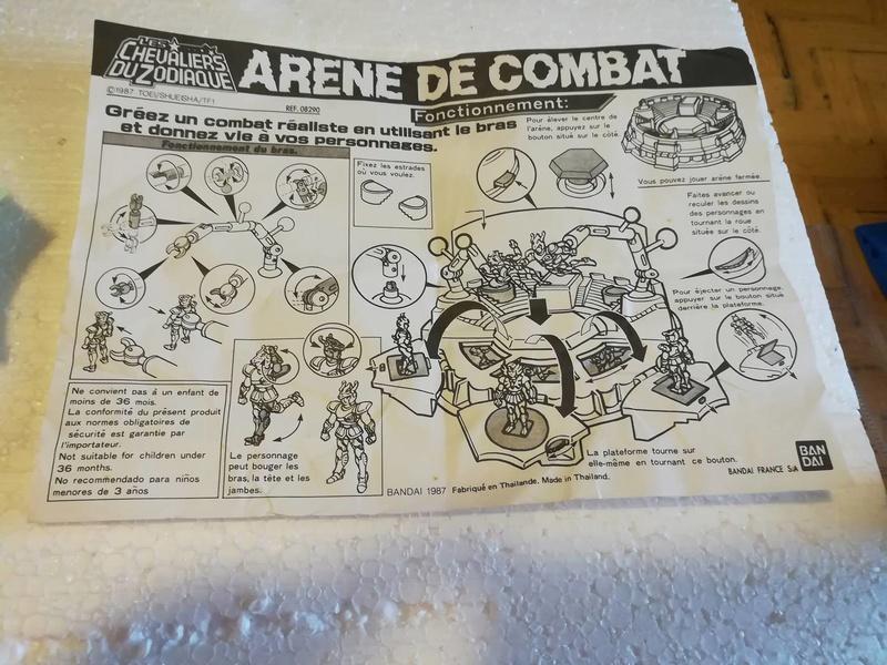 Cavalieri Dello Zodiaco \ Saint Seiya Arena Bandai 1987 edizione francese 712