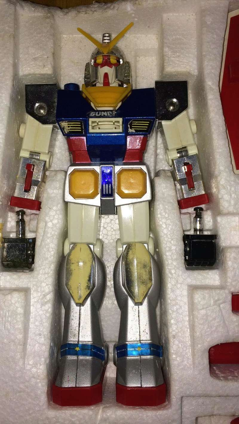 Gundam Dx dischi dal petto 713