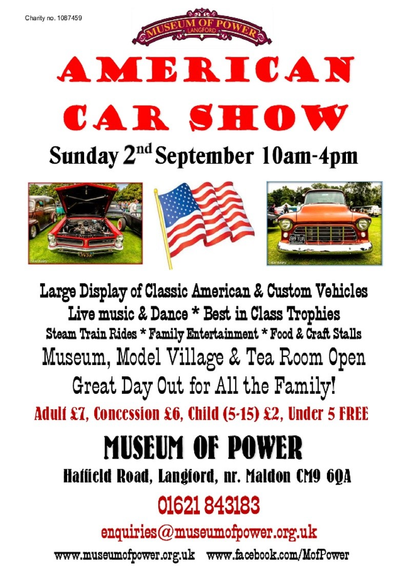 Museum Of Power American car show 2nd Sept 0000112