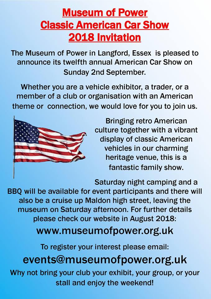 Museum Of Power American car show 2nd Sept 22813911