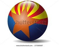 BEAUTIFUL , COLORFUL FLAGS AND BALLS FROM ALL OVER THE COUNTRY AND WORLD . Azflag10