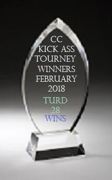 TOP CC TOURNEY WINNERS FEBRUARY 2018 Feb20110