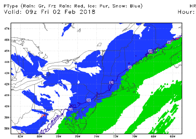 February 2nd: Light Snow Event - Page 3 Hrrr110