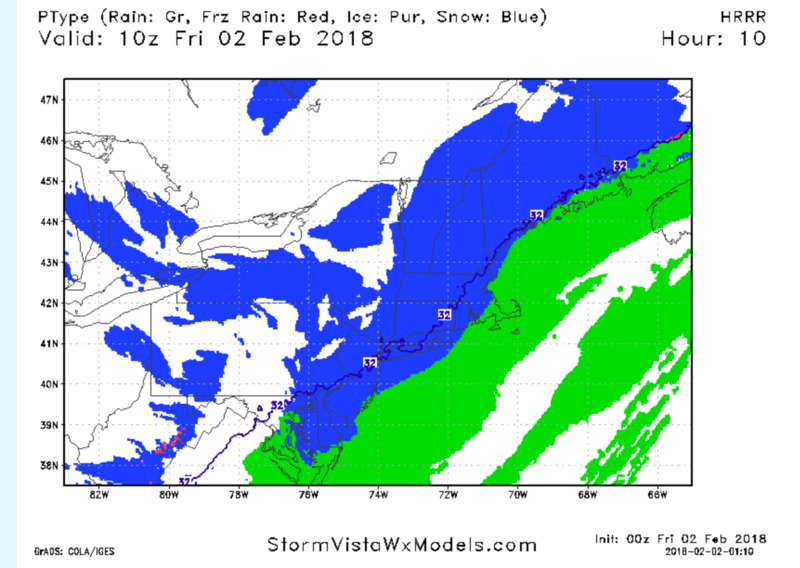 February 2nd: Light Snow Event - Page 3 Hrrr210