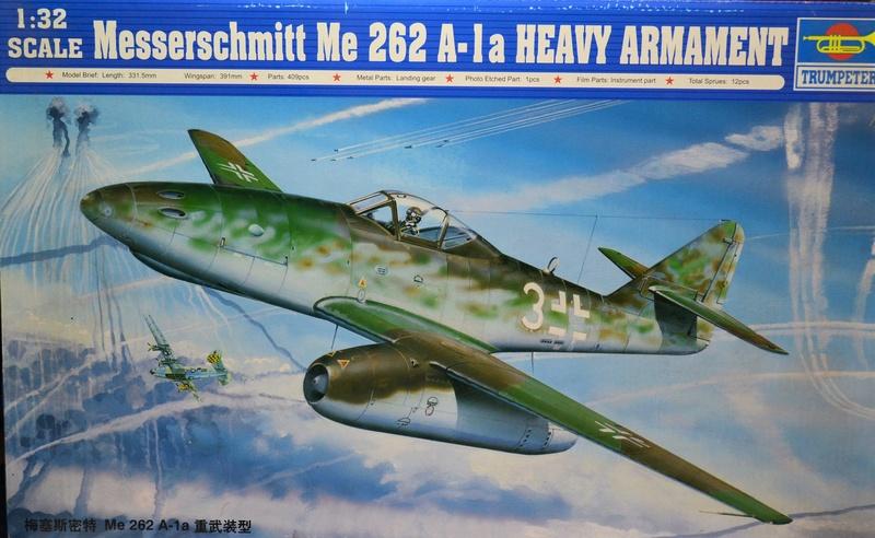 ME 262 A-1 TRUMPETER 1/32 Dsc_0302