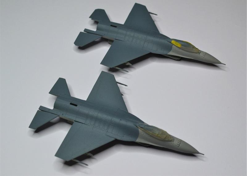 Duo de F16 MLU 1/144 Revell. Hthrhg10