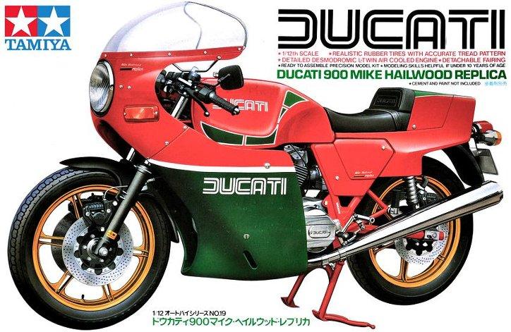 Ducati 900 replica Mike Hailwood 1/12 Tamiya11