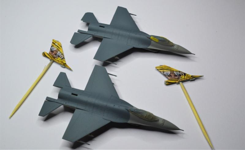 Duo de F16 MLU 1/144 Revell. Trytrr10
