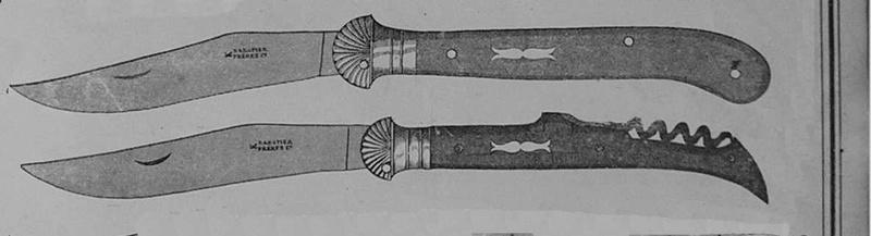 De la paternité du design du laguiole  Catalo11