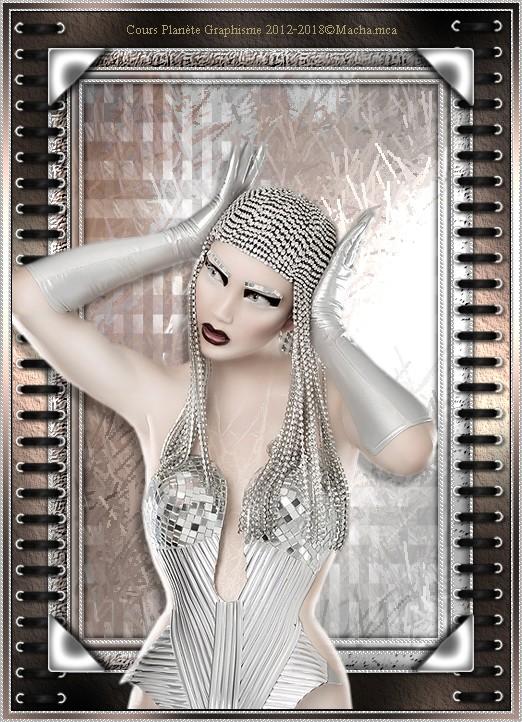 Cours Photofiltre Studio : Une femme Bionique Bioniq10