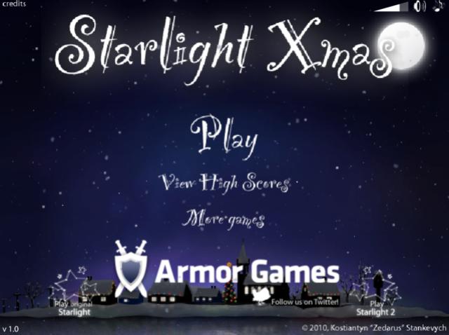 Festibration Flash Game ~ Starlight Xmas Starli10