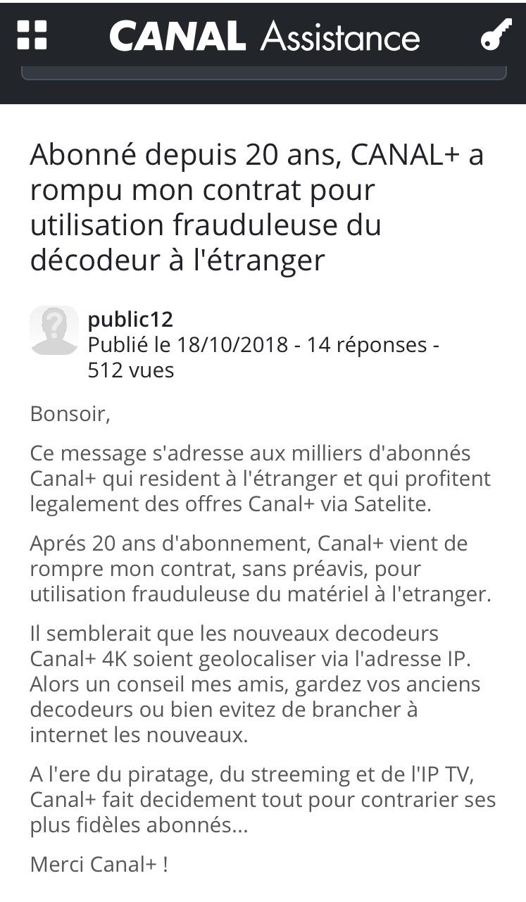 [Maroc/TV] Décodeur CANAL SAT Reisil10