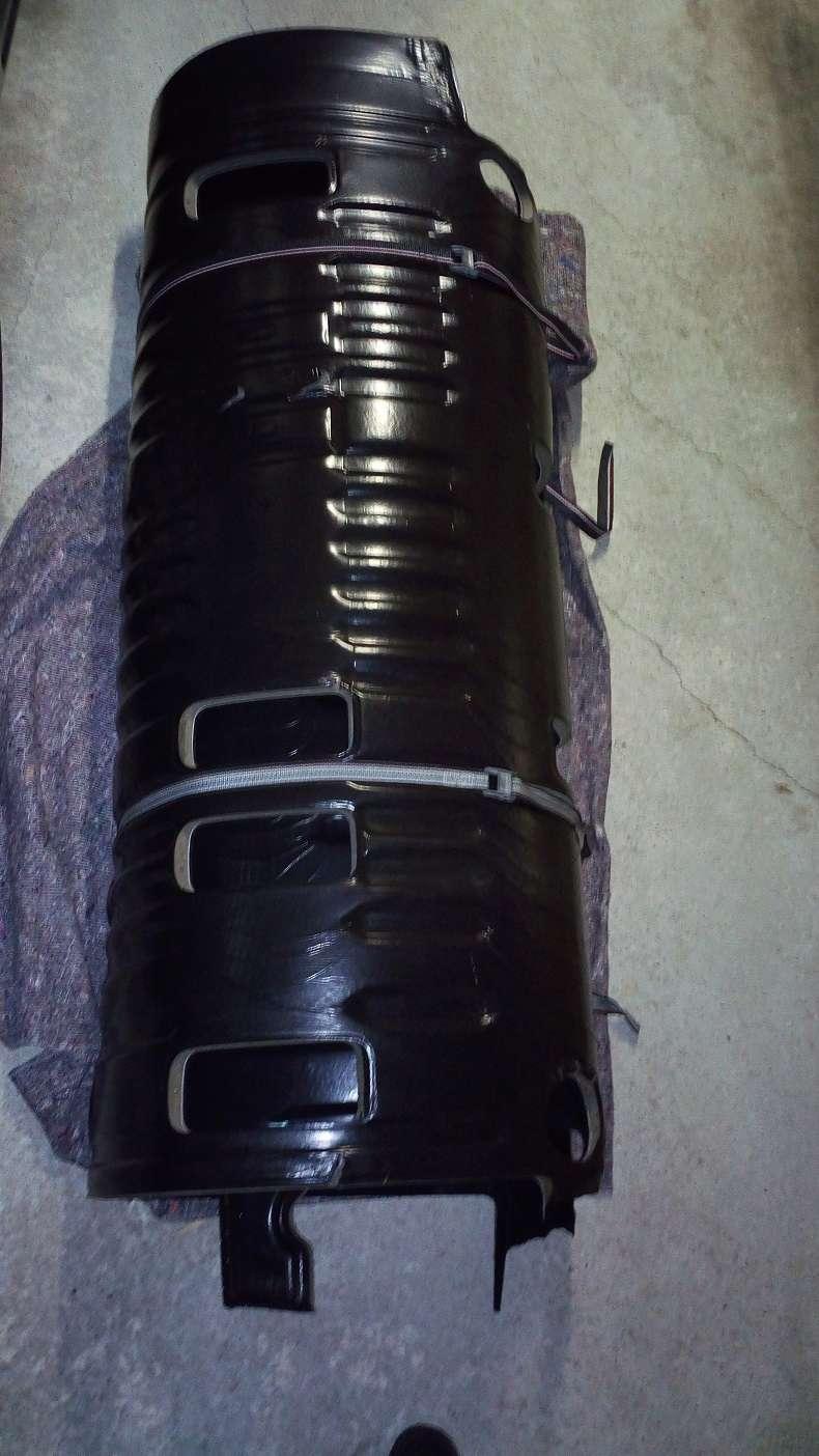 Revetement moquette noir pour cellule Caravelle Img_2013