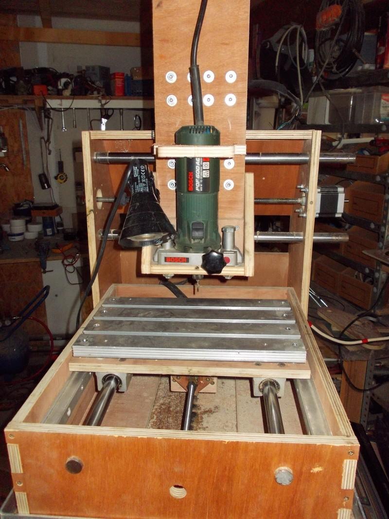 Fabriquer sa 1ere CNC Dscn0410