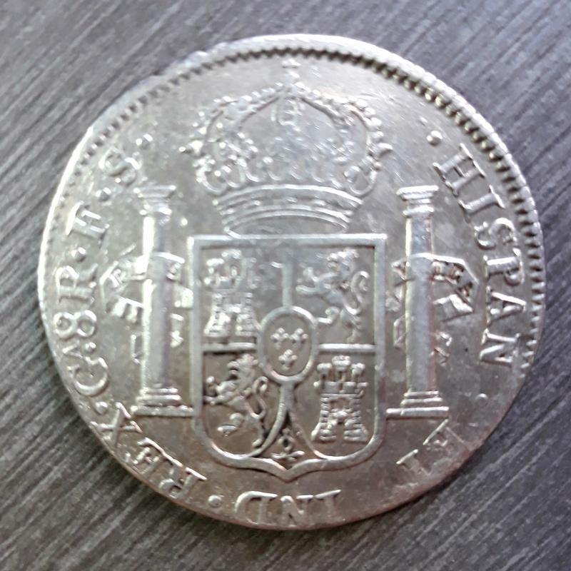 8 reales 1822 Guadalajara. 20180412
