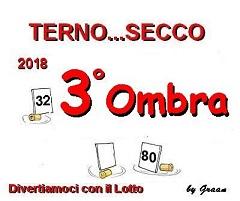 VINCITORI TERNO SECCO 2018: PENNY-ASTRID70-OMBRA Premio15