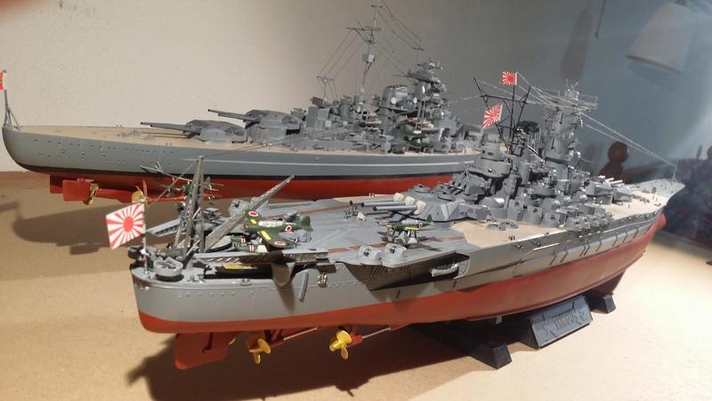 Yamato [Tamiya] 1/350° 20180211