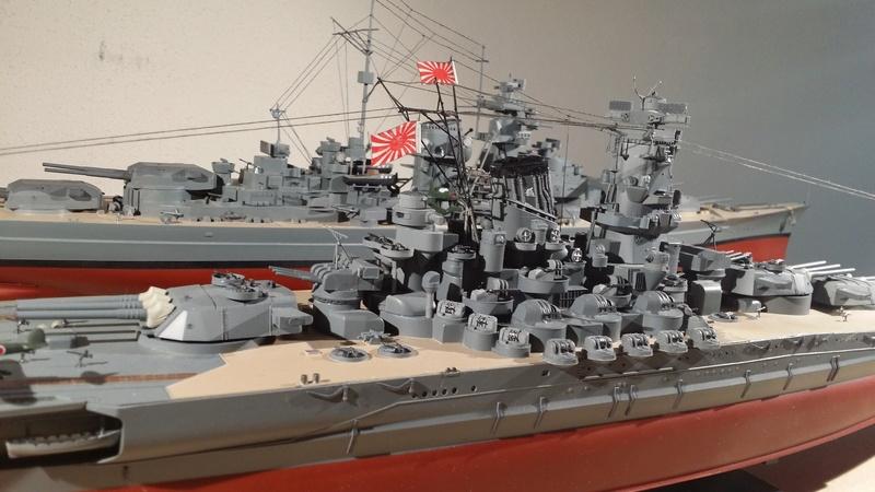 Yamato [Tamiya] 1/350° 20180212