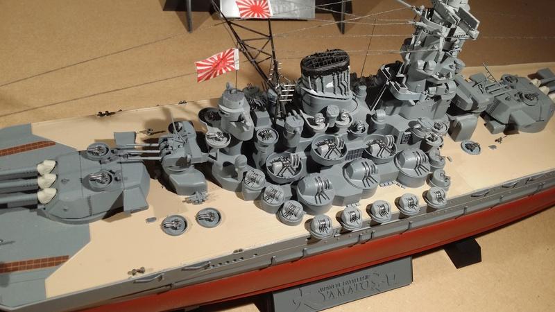 Yamato [Tamiya] 1/350° 20180316