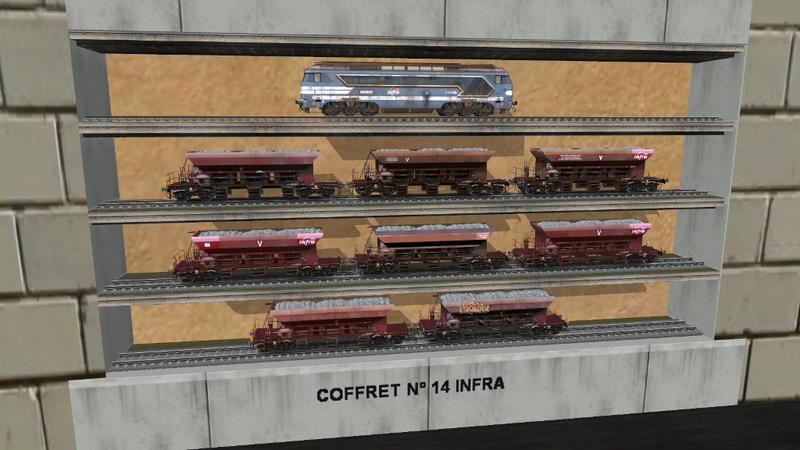 Série de coffrets pour TrainZ Giraud33