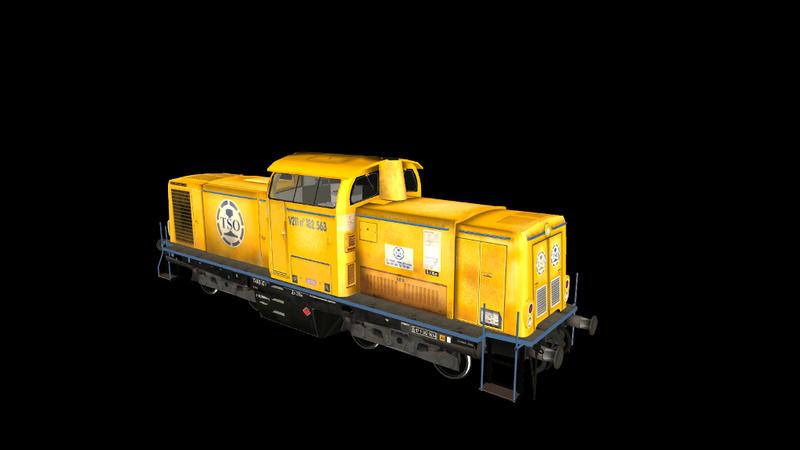 Locomotives V 211 et V 212 entreprises ferroviaires Giraud36