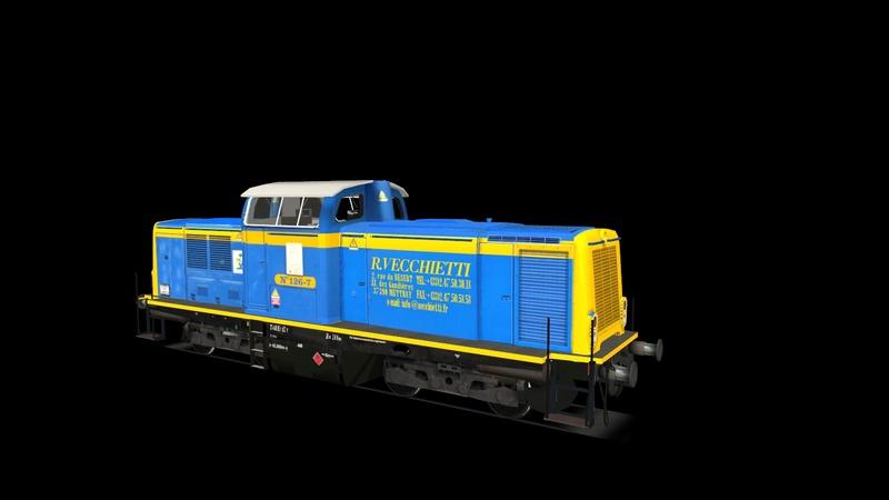 Locomotives V 211 et V 212 entreprises ferroviaires Giraud39